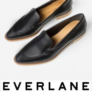 Everlane The Modern Loafer in Black Leather